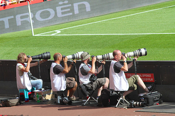 professional sports photographers