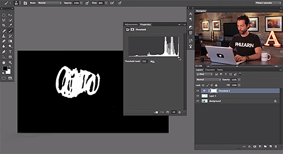 how to make a clear background in photoshop