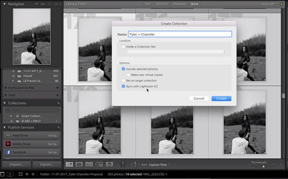 lightroom client proofing