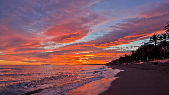 colorful sunset photo tips